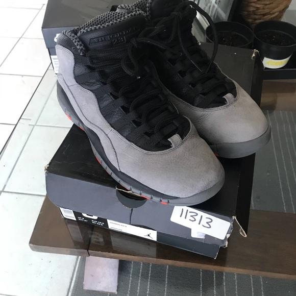 Grey Sz9 Jordan 10 Air Cool Nike Retro SVzpUM